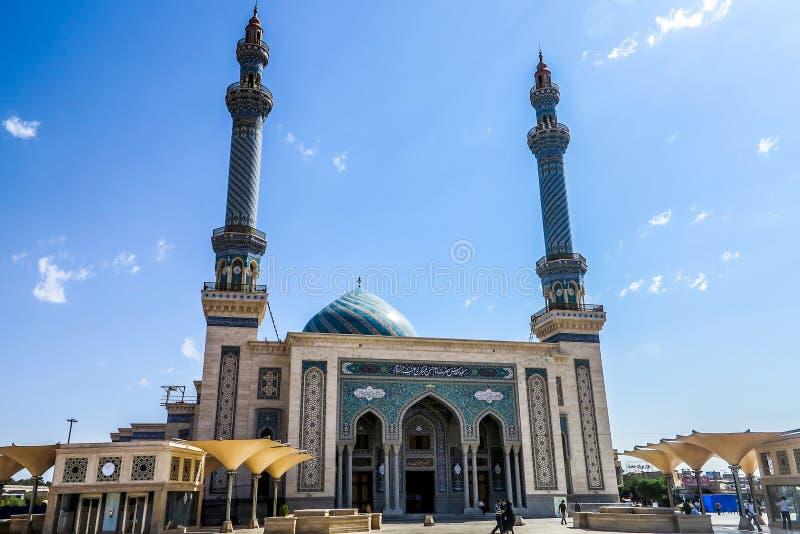 Qom-Imam Hassan Asgari Mosque 02 stockbilder