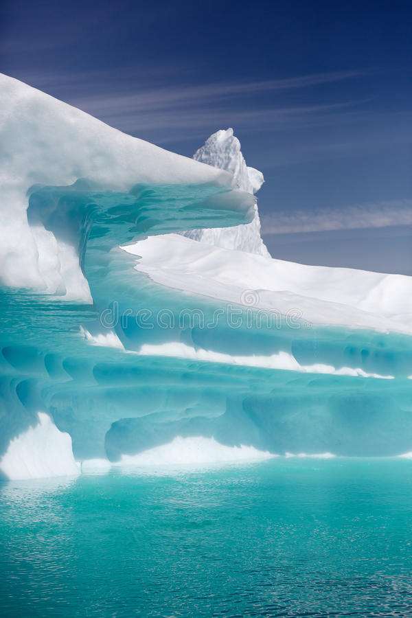 Qooroq Icefjord royalty-vrije stock fotografie