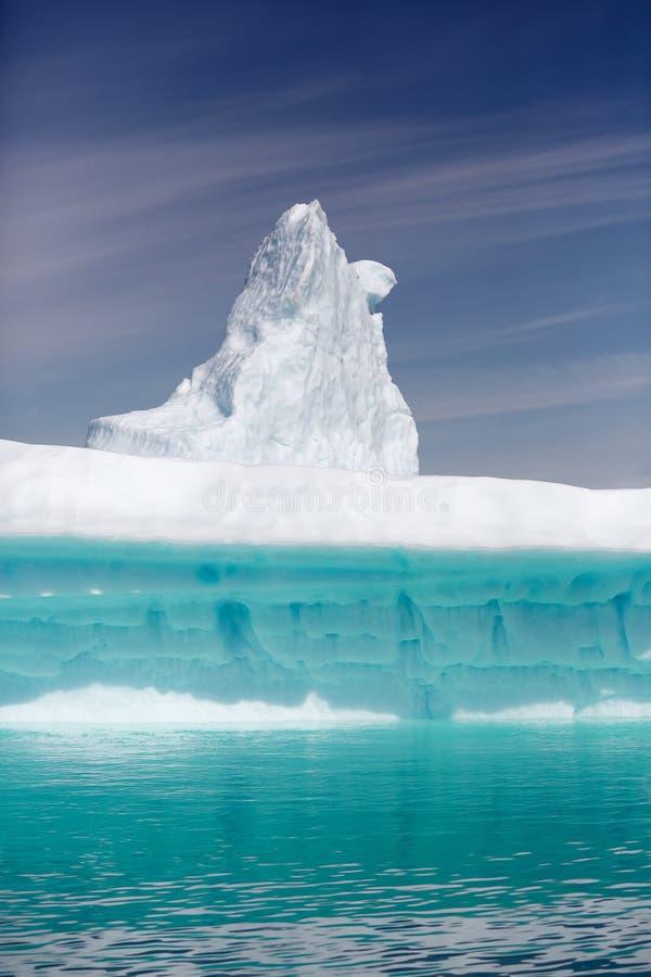 Qooroq Icefjord stock afbeelding