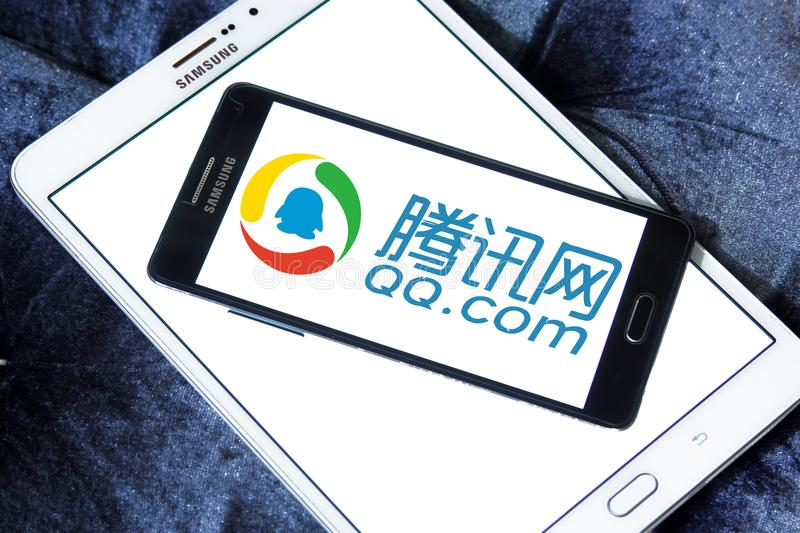 Tencent Holdings Limited Logo Editorial Photo Image Of Logos Company 93294526