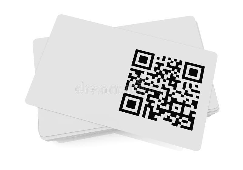 Qr编码 库存例证
