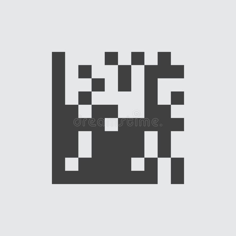 QR代码象例证 向量例证
