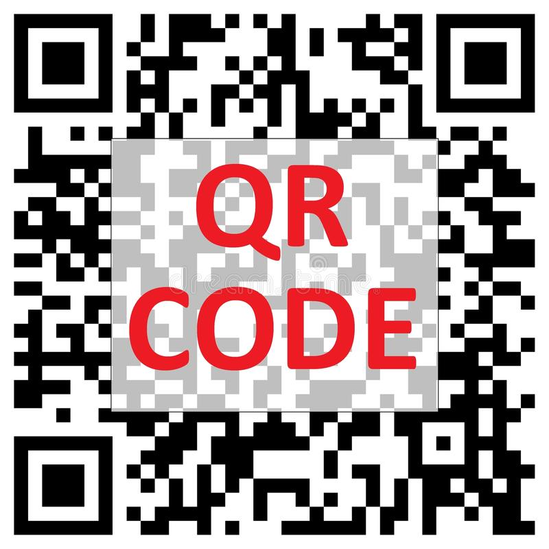 Free QR Code Royalty Free Stock Photos - 12467508
