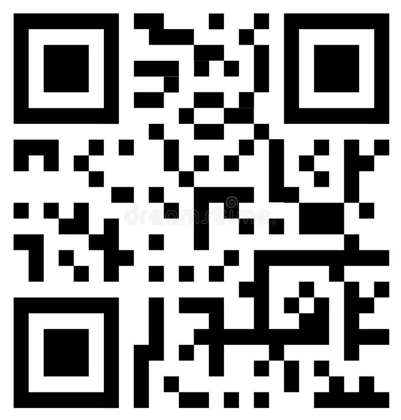 Qr Code stock abbildung