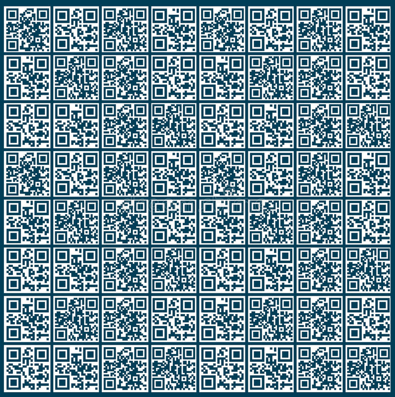 QR Code Background stock illustration