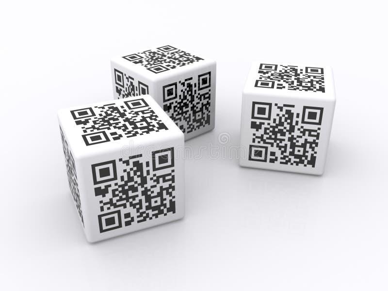 QR Codes   stock abbildung