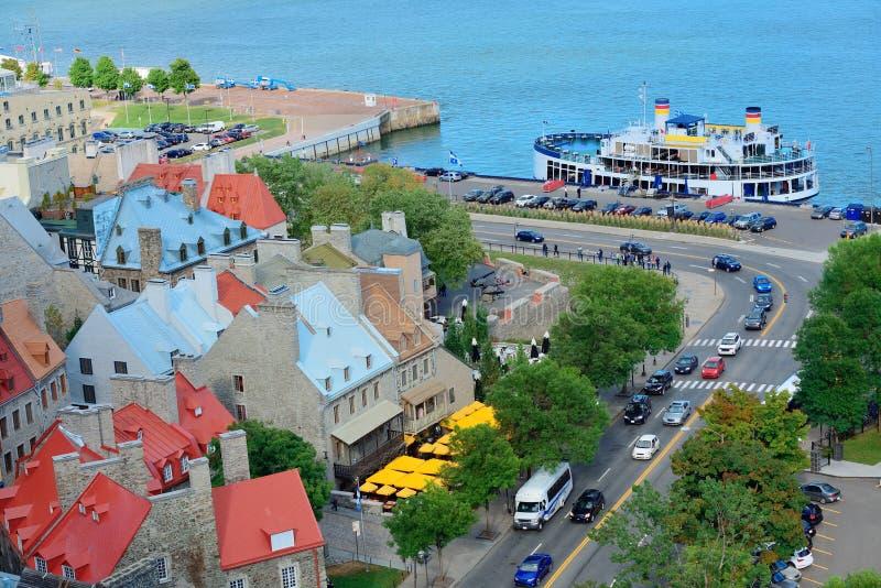 Québec photo libre de droits