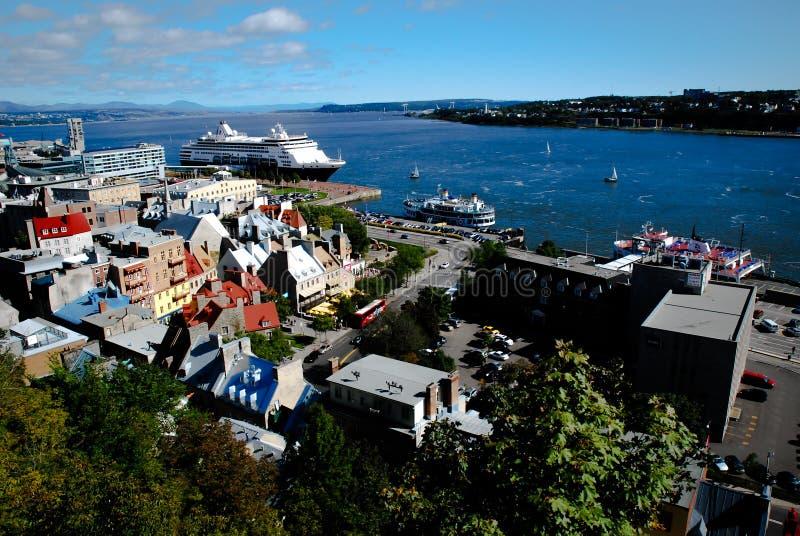 Québec Canada fotografia stock