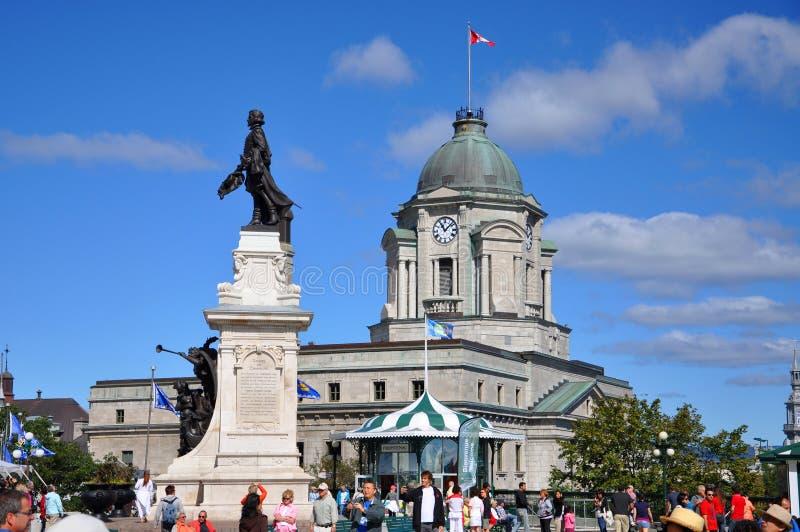 Québec-Stadtpost, Kanada lizenzfreie stockfotografie