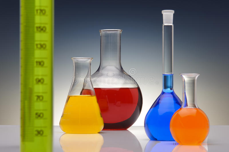 Química fotografía de archivo