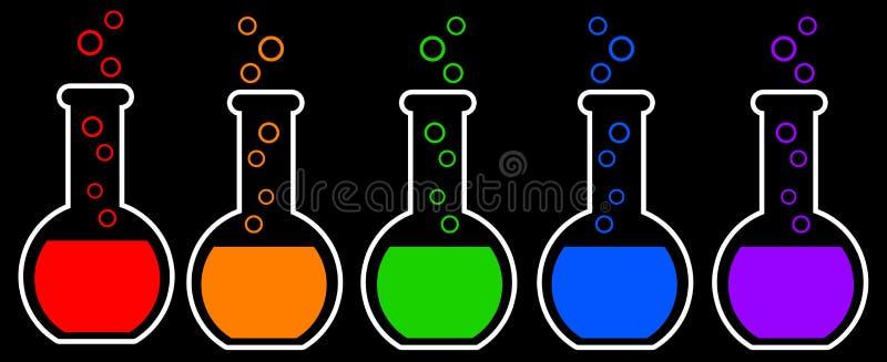 Química ilustração royalty free
