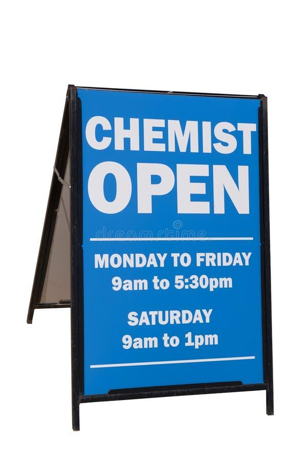 Químico Sign imagen de archivo libre de regalías
