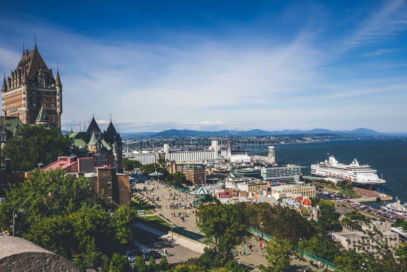 Qu?bec-Stadt Kanada stockfotografie
