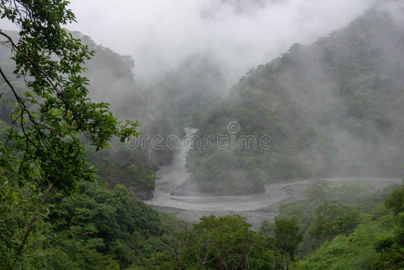 Qu Bing Canyon is lang en stil royalty-vrije stock afbeeldingen