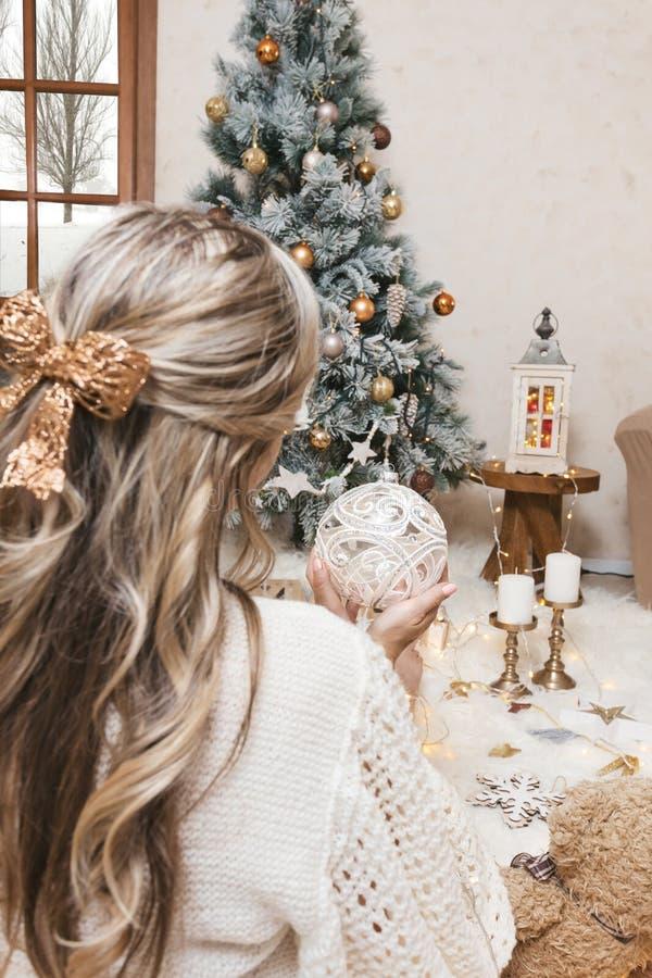 Qu'est-ce que tu souhaites à Noël ? image libre de droits