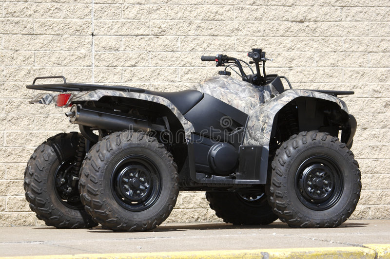 Download Quad stock photo. Image of motor, bumper, hunter, realtree - 664210