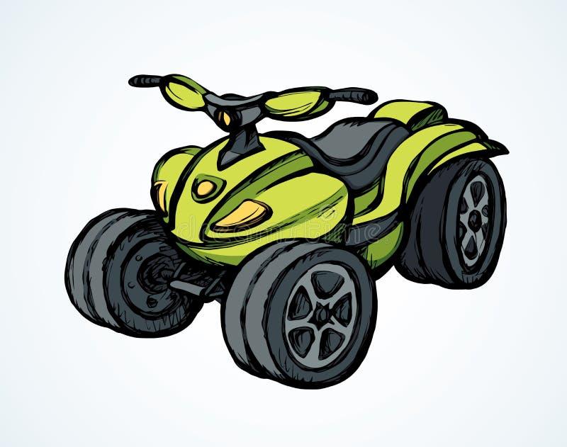 Quad Bike Dessin Vectoriel Illustration De Vecteur Illustration Du Vectoriel 160313464