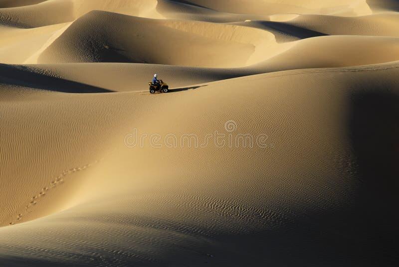 Quad Dunes Stock Photo