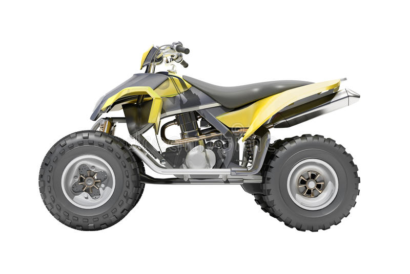 Download Quad isolated stock photo. Image of motorcycle, race - 31875338
