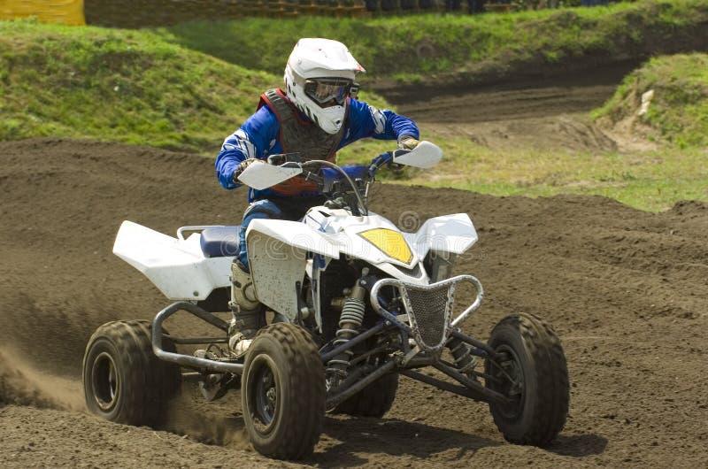 Quad race stock images