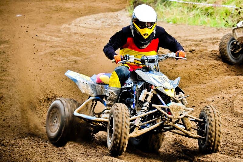 Quad rider stock photos
