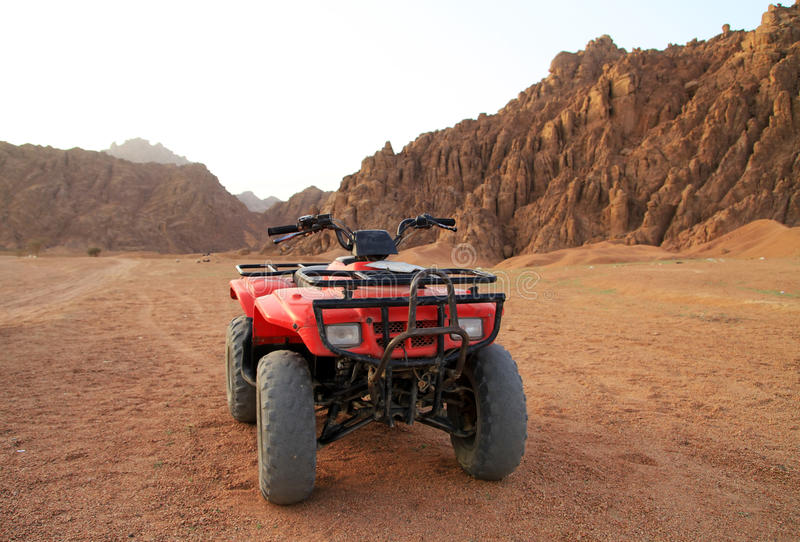 Download Quad Trip In Sinai Mountains Stock Image - Image of alone, land: 13581097