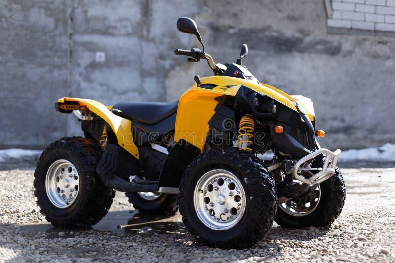 Quadbike ATV royalty-vrije stock afbeelding