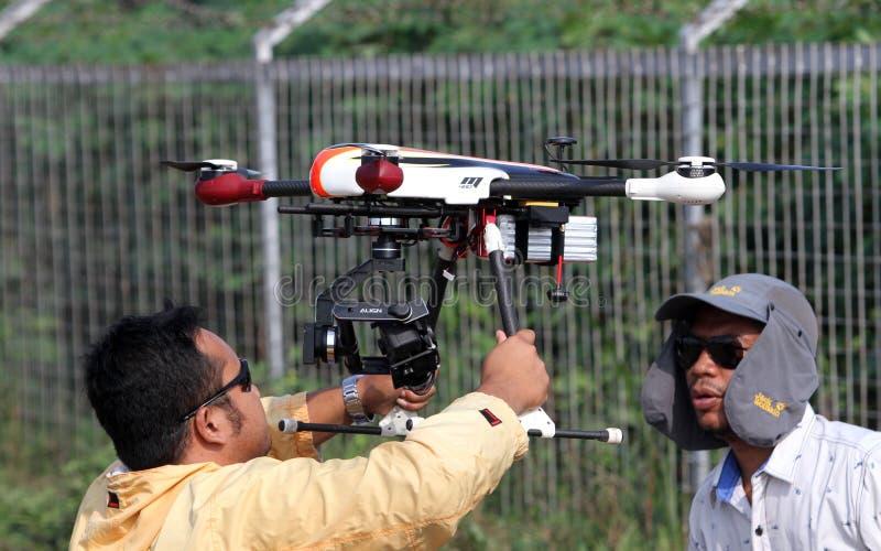 Quadcopter стоковые изображения rf