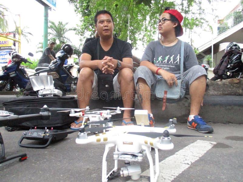 Quadcopter стоковые фотографии rf