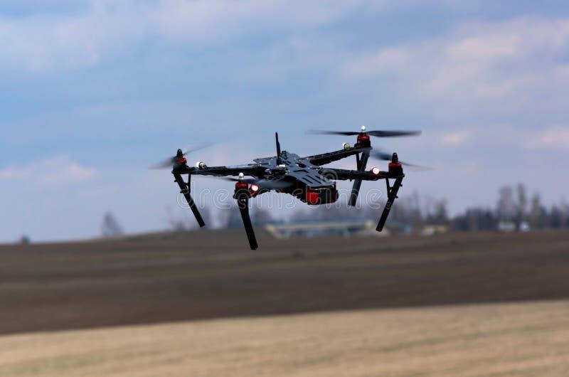 Quadcopter immagine stock