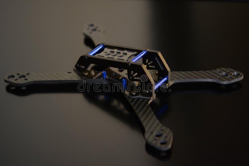 Quadcopter stock image