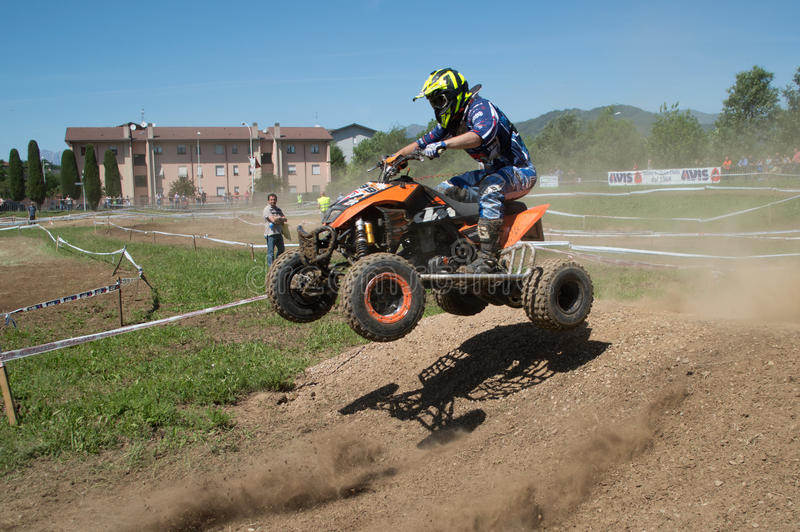 Quadcross foto de stock