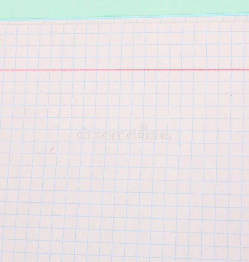 Quaderno per scrivere fotografia stock