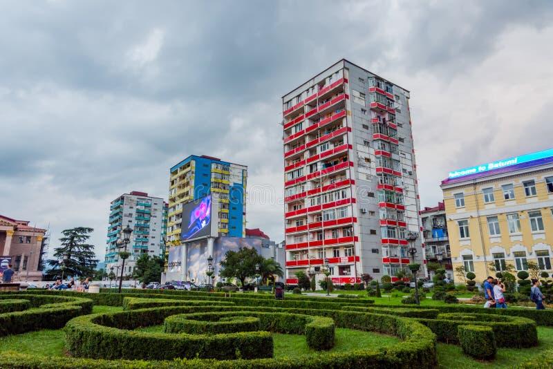 Quadrado Batumi de Europa fotos de stock royalty free