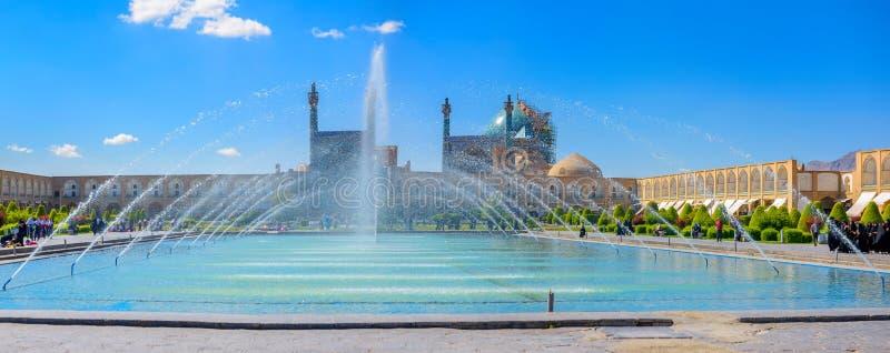 Quadrado da imã em Isfahan imagem de stock