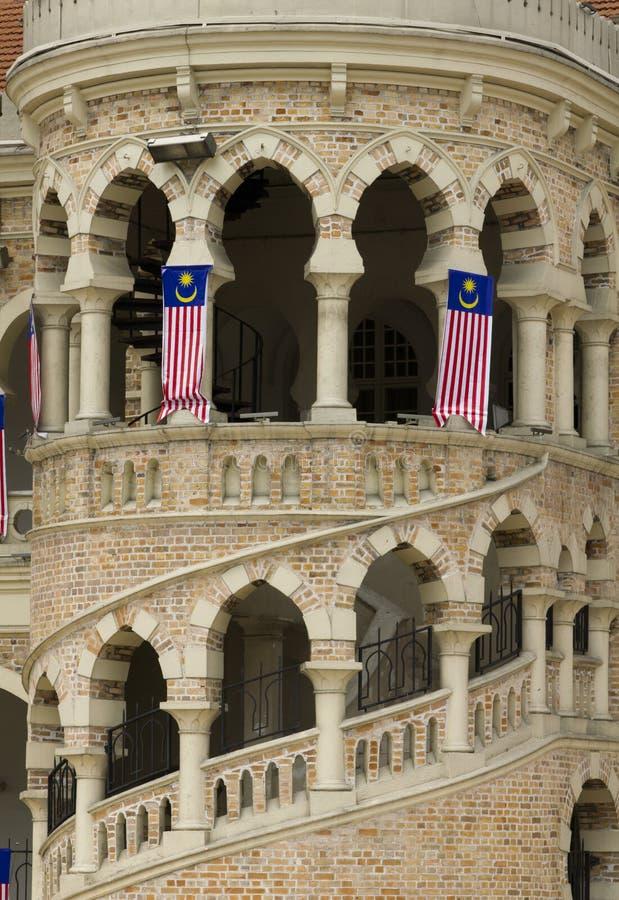 Quadrado da independência (Dataran Merdeka) Kuala Lumpur imagens de stock