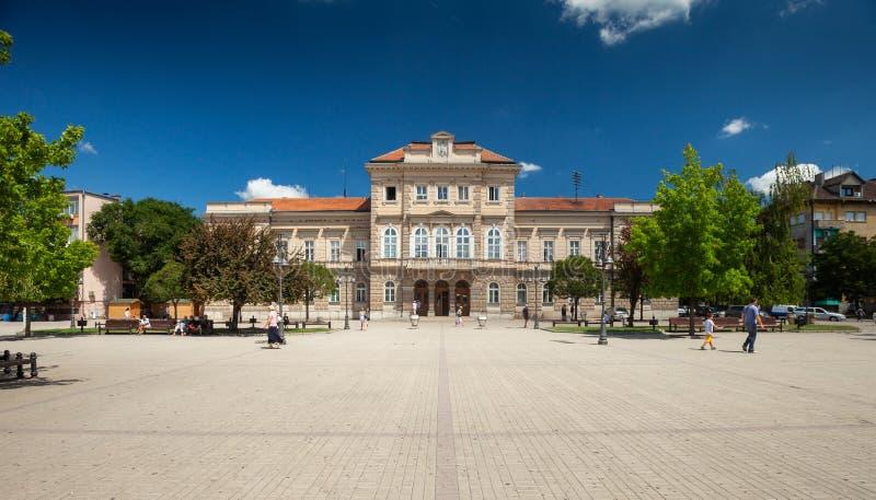 Quadrado da república, Smederevo imagem de stock royalty free