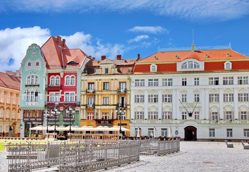Quadrado 02 da união, Timisoara, Romania fotos de stock royalty free