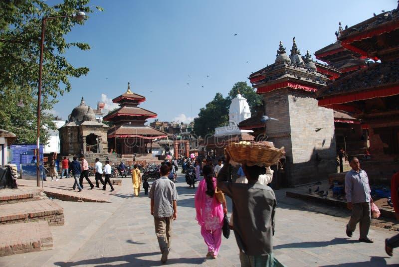 Quadrado de Durbar em Kathmandu imagem de stock royalty free