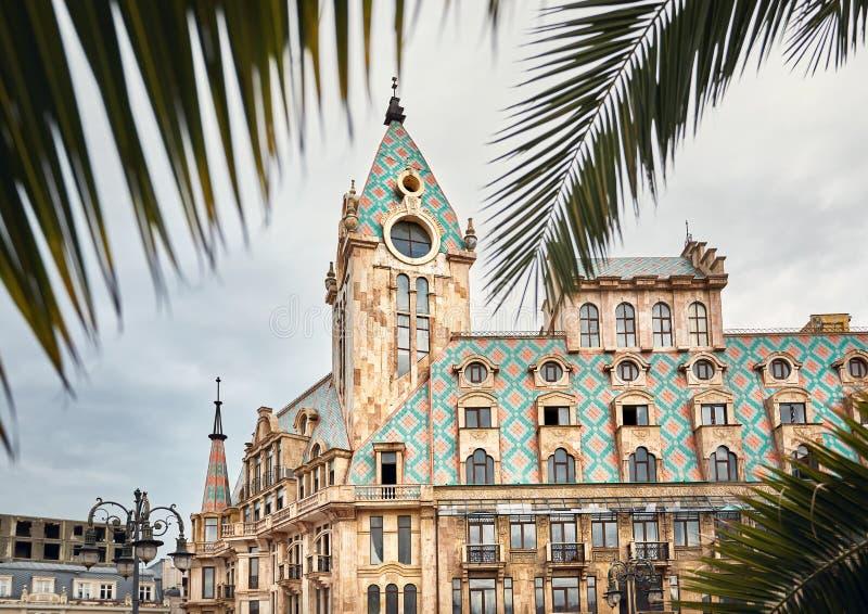 Quadrado de Europa em Batumi fotografia de stock royalty free