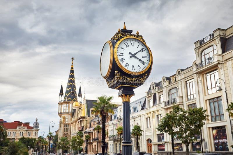 Quadrado de Europa em Batumi fotos de stock