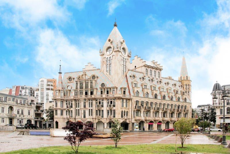 Quadrado de Europa em Batumi fotos de stock royalty free