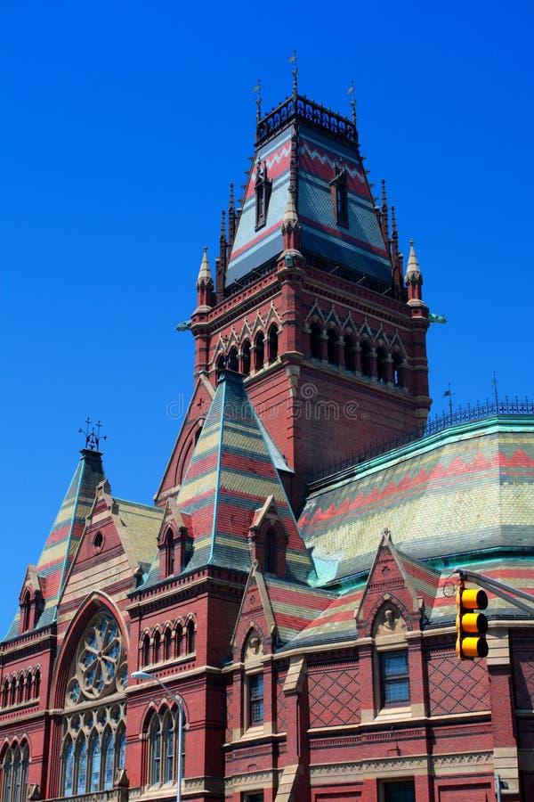 Quadrado de Harvard, Cambridge fotos de stock