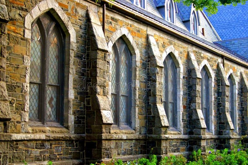 Quadrado de Harvard, Cambridge fotografia de stock royalty free
