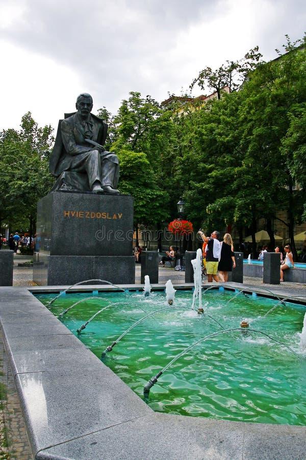 Quadrado de Hviezdoslav foto de stock royalty free