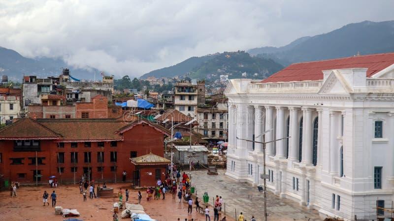 Quadrado de Kathmandu Durbar em Nepal foto de stock royalty free