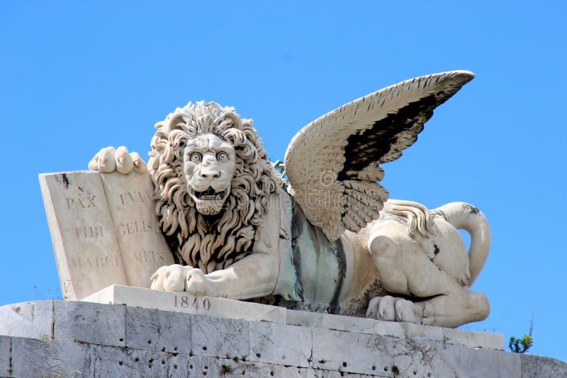 Quadrado de Livorno San Marco fotografia de stock royalty free