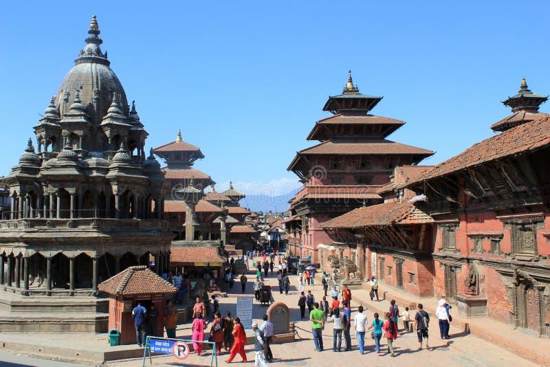 Quadrado de Nepal Durbar fotografia de stock