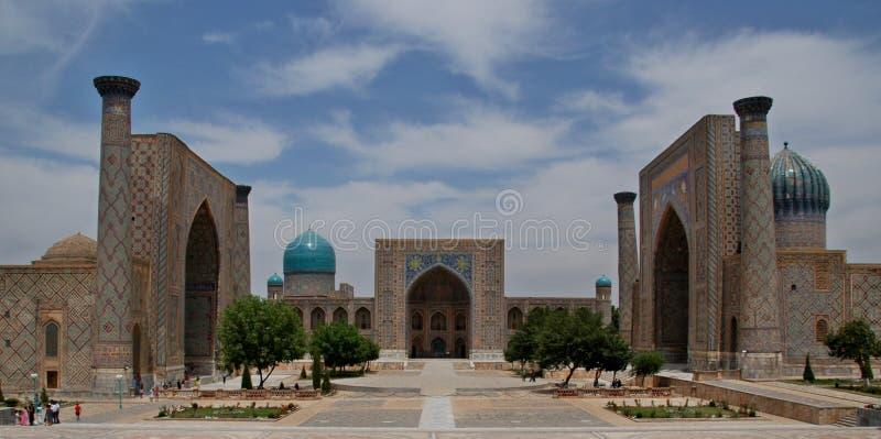 Quadrado de Registan fotografia de stock royalty free