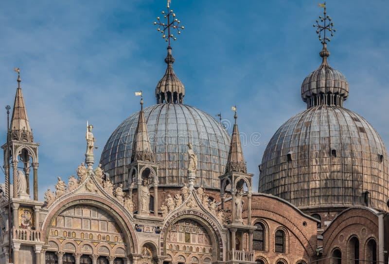 Quadrado de San Marco St Mark da praça, região de Veneza, Vêneto, um local do patrimônio mundial do UNESCO, Itália do nordeste imagem de stock royalty free
